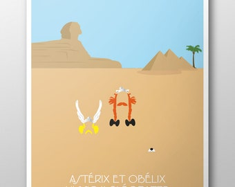 Poster of movie - Asterix and Obelix mission Cleopatra