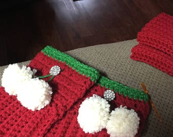 Holiday Boot Toppers