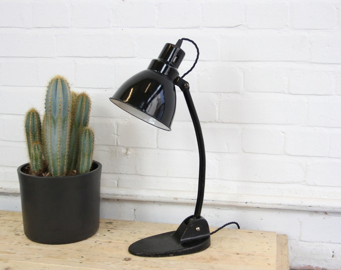 Factory Office Desk Lamp By Gebruder Jacob Circa 1920s