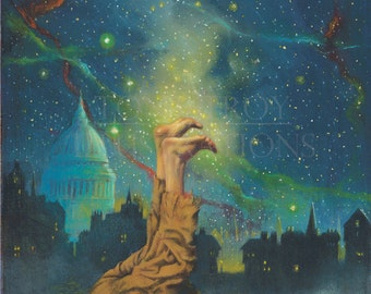 Feet to the Stars Poster by Tony Troy