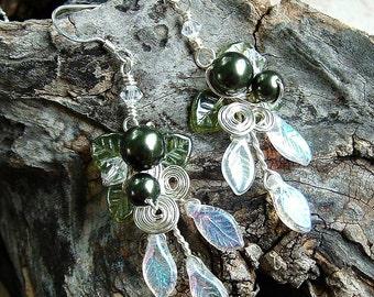 Lothlorien Spring Forest Earrings