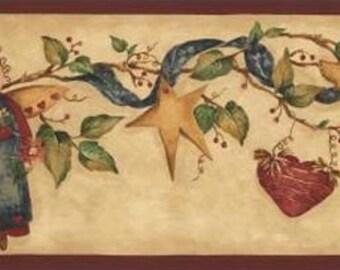 Christmas Angels Heart NC76756LL Wallpaper Border