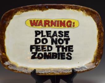 Handmade Custom Zombie Platter