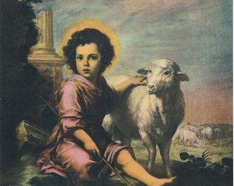 The Divine Shepherd Calendar Art Print