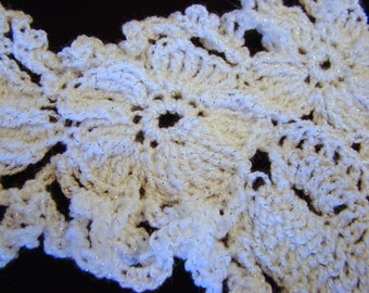 Crocheted Shawl Pieces