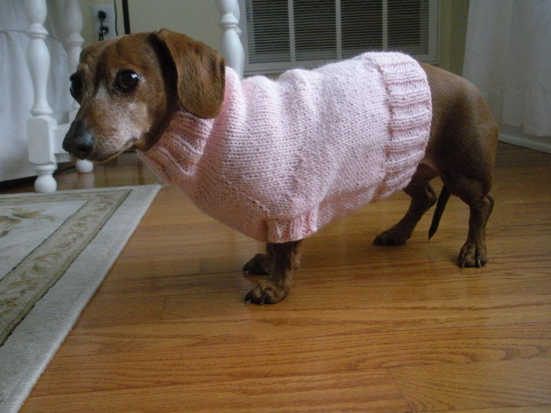 Knit Dog Sweater Pattern Gallery - handicraft ideas home decorating