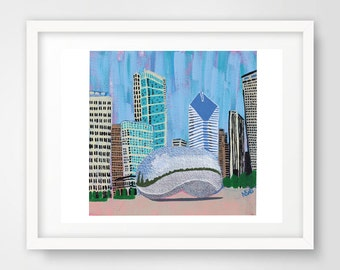 PRINT - Title: Bean - Chicago, Illinois by Nicole Stevens