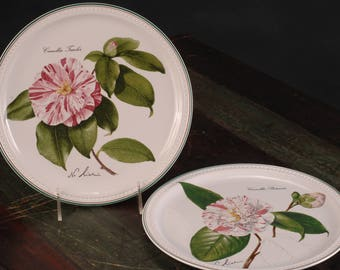 Villeroy & Boch, Camellia Plates, Luxembourg