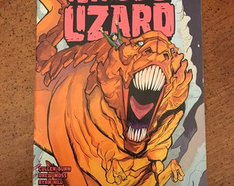 Terrible Lizard - Oni Press Issue #1