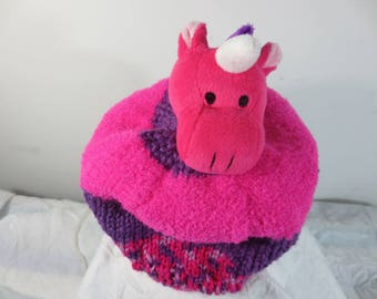 Child Hat plush Unicorn