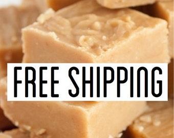 Free Shipping, Peanut Butter Fudge, Creamy Fudge