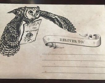 Harry Potter Inspired A7 Envelope  | DIY Printable