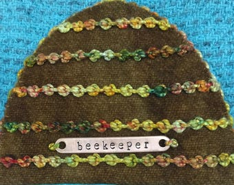 Beekeeper Copper Tag