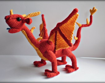 Dragon Charlotte - PDF Crochet Pattern [Instant Download]