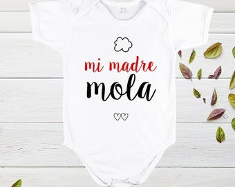 Childrens shirts, Mothers day, my mother is cool, Mother's Day Tshirts, funny designs for baby, mother day gift, baby clothes