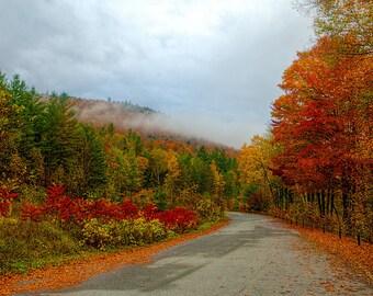 Adirondack Landscape Photograph, Adirondack Mountains. Autumn Print, Autumn Photography, Autumn Art, Adirondack Fine Art, Nature Photography