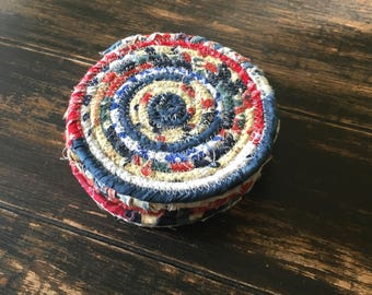 Scrappy rope coasters, set of 6