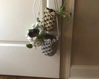 Macrame Hanging Plant Bag