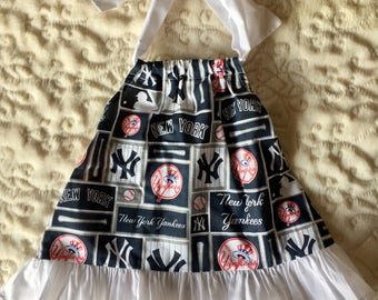 Football NFL New York Yankees Baby Toddler Dress 12 Months, 2T and 3T
