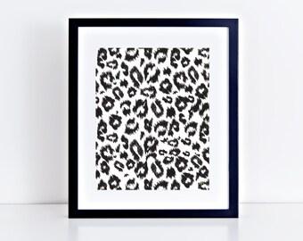 Leopard Print Art Print/Wall Art