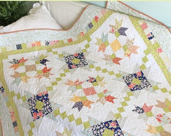 Purely Petals - Carried Away Quilting CAQ-009