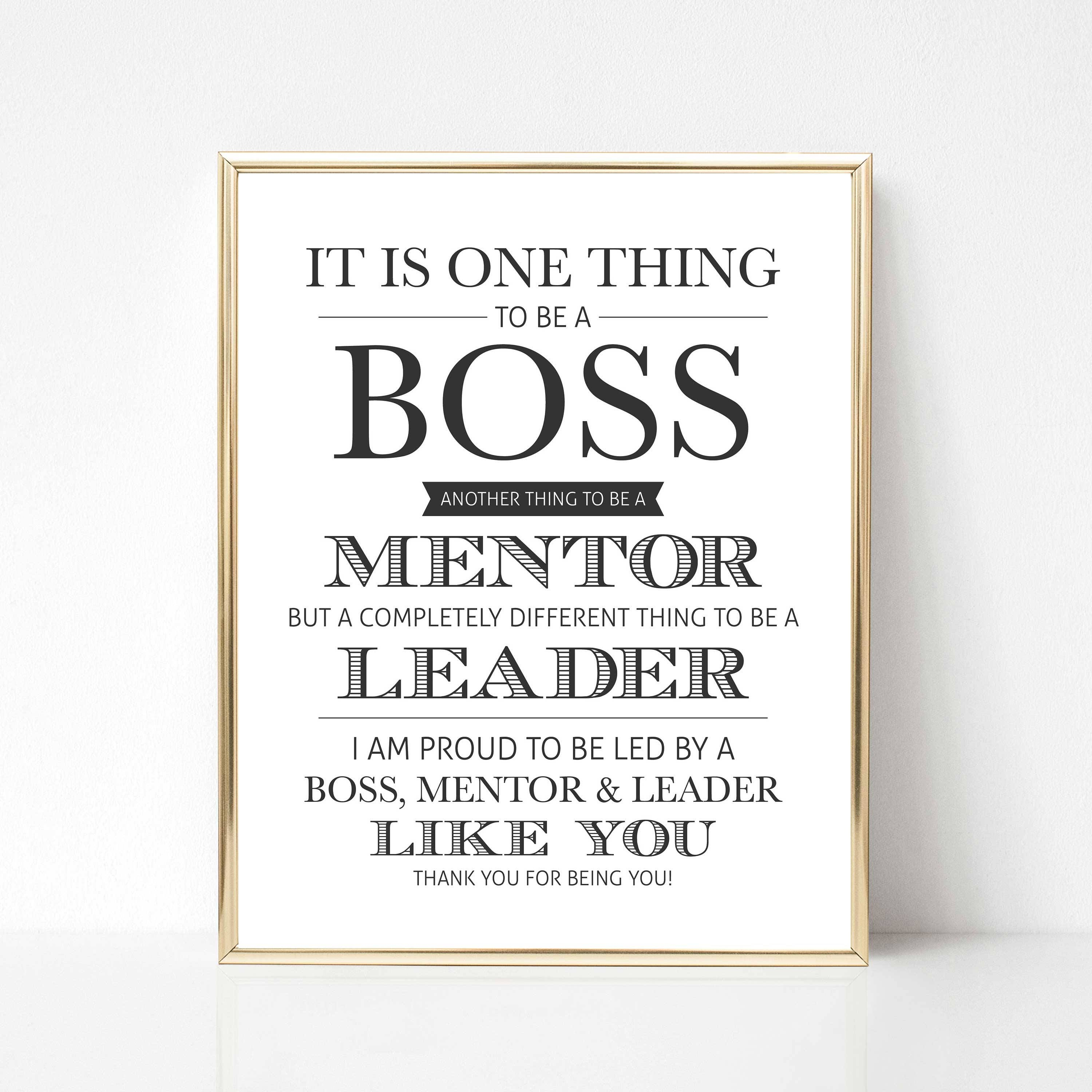Thank You Quotes For Your Boss