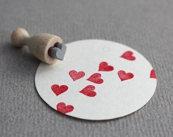 Stamp Heart mini