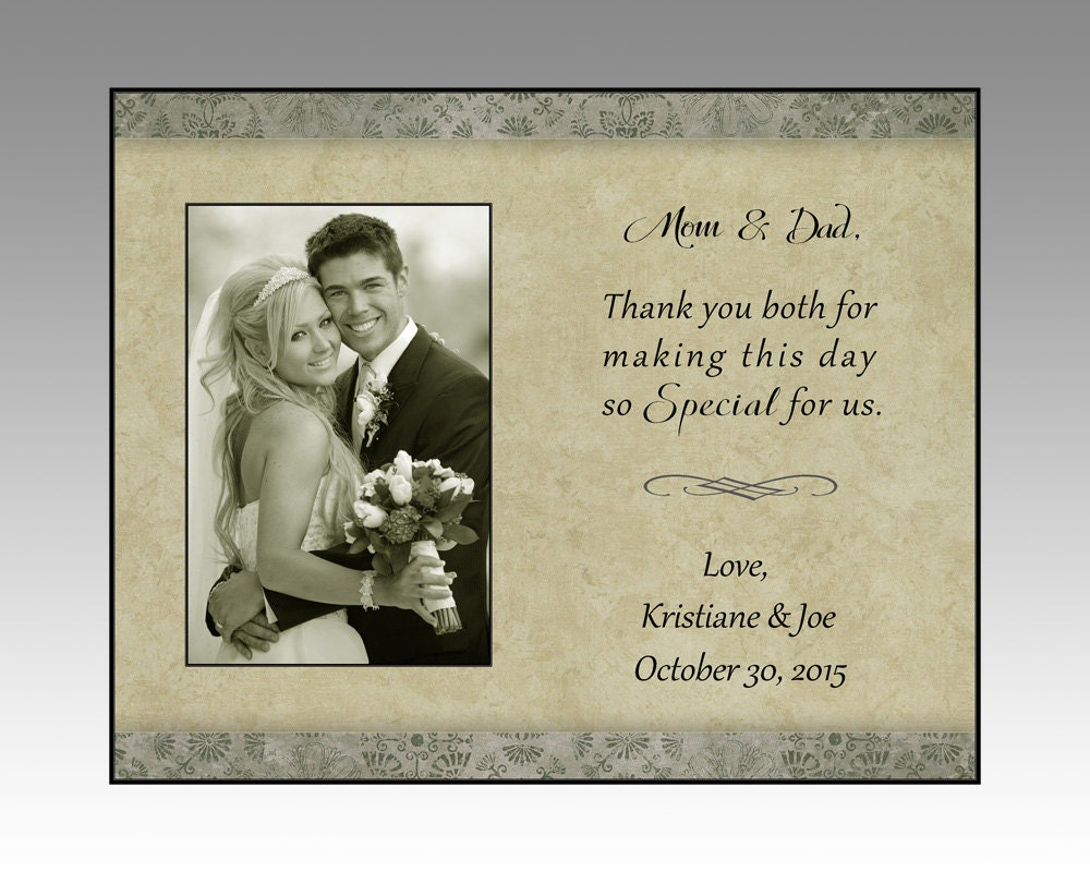 Parent wedding gift mom and dad wedding gift parent picture zoom jeuxipadfo Choice Image