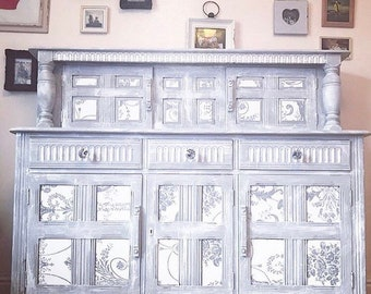 Silver Linings Dresser -by Gallier House