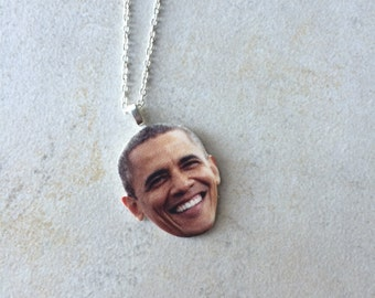 Barack Necklace/Keychain/Choker