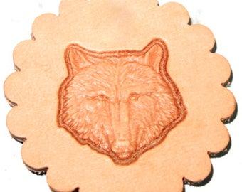 Wolf Head 3-D Stamp 88459-00