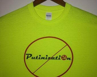 Anti-Putin Political T-Shirt -  Don't Turn us into the next USSR!