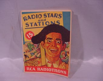 1933 Publication Radio Stars & Stations RCA RADIOTRONS