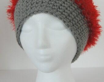 Fuzzy Buckeye hat