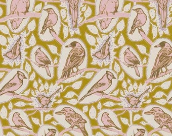Sweet Dreams by Anna Maria Horner for Free Spirit - Cacophony - Saffron - 1/2 yard Cotton Quilt Fabric