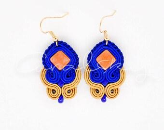 Elegant, Handmade, Eye-catching, Dangle, Soutache Earrings