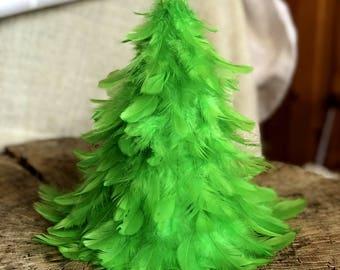 Weihnachtsbaum der Federn