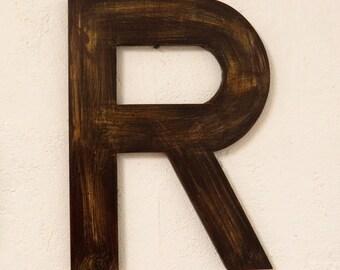 Letter R teaches, decoration, interior decor