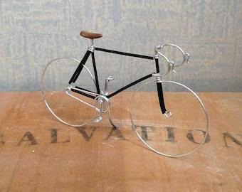 Black Wire Track Bike