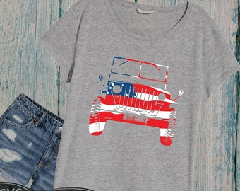 America jeep svg, 4th of july svg, Silhouette SVG Cutting Files Clip Art Studio3 printable quote iron on shirt coz 82SV