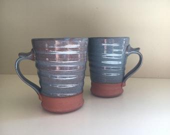 Pair of Mugs in Blue