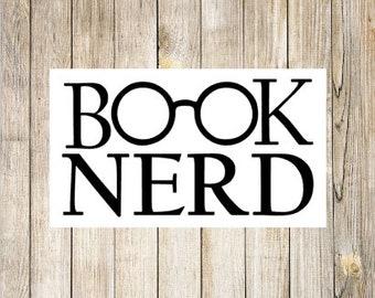 Read Decal | Glasses Decal | Car Window Decal | Planner Decal | Reader Sticker | Bookworm Sticker | Planner Sticker | Book Gift | Vinyl