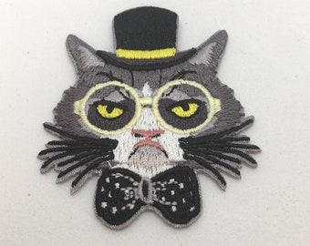 Grumpy Cat - Iron on Appliqué Patch