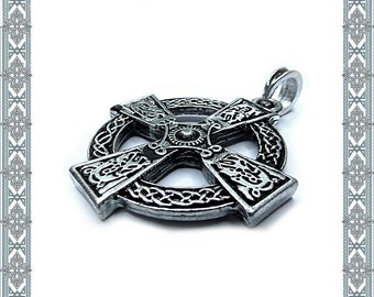 Chain Pendant celtic Cross silver-plated Celtic cross of Celtic pendant Celtic cross silver plated Medallion Amulet