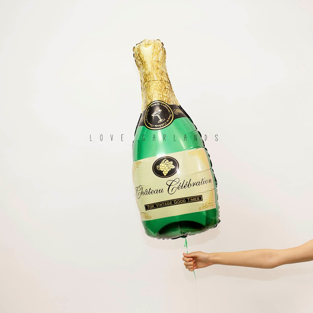36 Champagne Bottle Balloon Champagne Balloon Alcohol