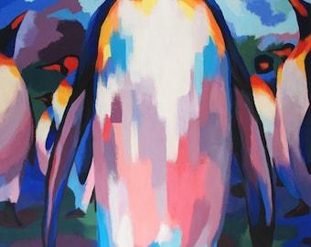 Penguin - Giclee print