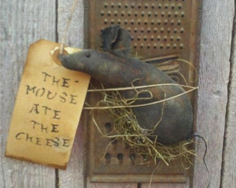 The Mouse Ate the Cheese