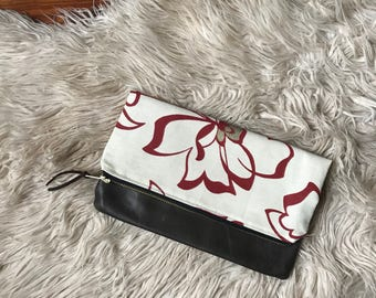 Floral Clutch || Ready to Ship