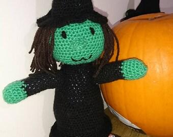 Winnie Witch Crochet Pattern