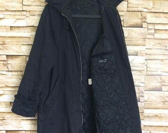 AGNES B. Long coat jacket